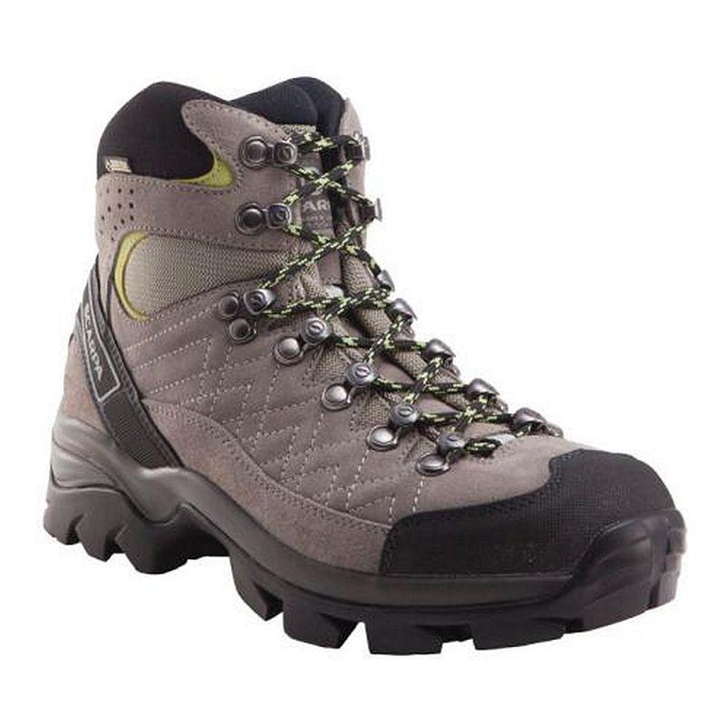 Scarpa Women's Kailash GTX Hiking Boots - Taupe/Acid