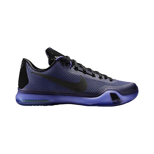 cheaper bad60 40419 Nike Men s Kobe X Basketball Shoes - Purple Black   Sport Chek