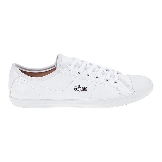 45c3955193f625 Lacoste Women s Ziane Sneaker CRC Casual Shoes - White