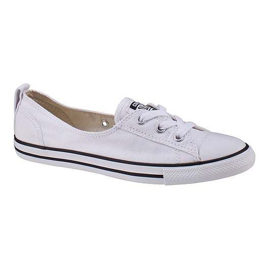7755027887fe78 Converse Women s Chuck Taylor Ballet Lace Ox Shoes - White