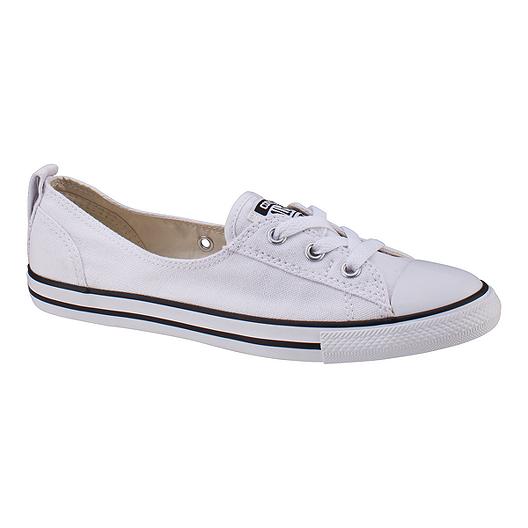 1a82143eaa22 Converse Women s Chuck Taylor Ballet Lace Ox Shoes - White
