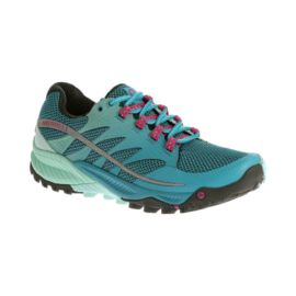Merrell Women's All Out Charge Trail Running Shoes - Blue Fade