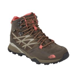 The North Face Women's Hedgehog Hike Mid GTX Lite-Hiking Shoes - Brown/Coral