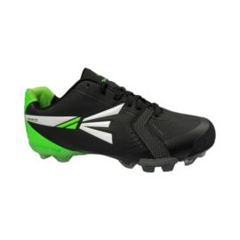 Easton Men's Mako TPU Low Baseball Cleats - Black/White/Green