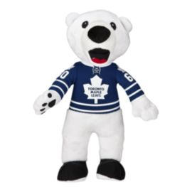 Toronto Maple Leafs 10 Inch Carlton Plush Mascot