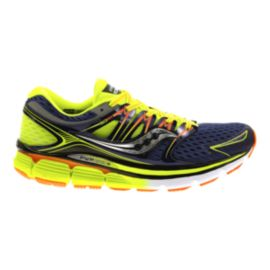 Saucony Men's ISO Triumph Running Shoes - Black/Yellow