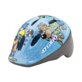 Giro Me2 Toddler Bike Helmet - Light Blue Animals