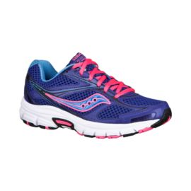 Saucony Women's Grid Exite 7 Running Shoes - Blue/Purple/Pink