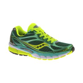 Saucony Women's PowerGrid Ride 7 Running Shoes - Green/Citrus