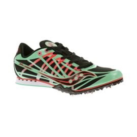 Saucony Women's Velocity Track & Field Running Shoes - Mint Green/Black/Orange