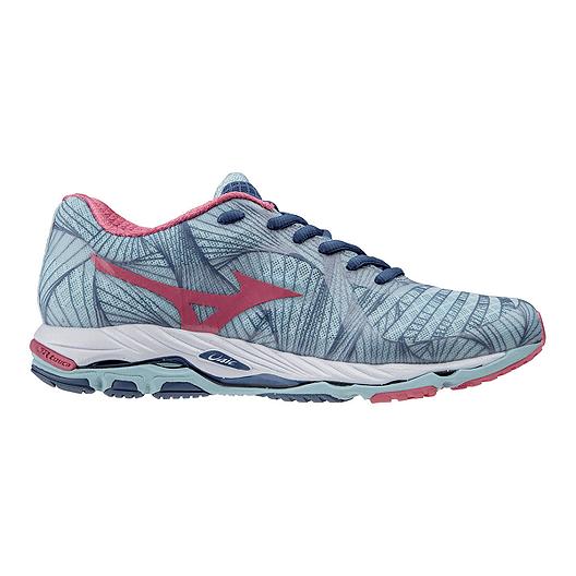 51323917d848 Mizuno Women's Wave Paradox Running Shoes - Light Blue/Pink | Sport Chek