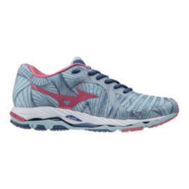 Mizuno Women's Wave Paradox Running Shoes - Light Blue/Pink
