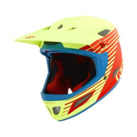Giro Cipher Helmet - Matte Glowing Red/Highlight Yellow
