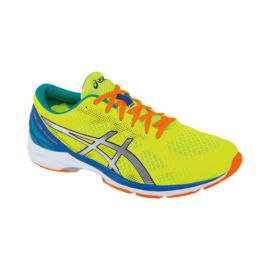 ASICS Men's Gel DS Racer 10 Running Shoes - Yellow/Blue/Orange