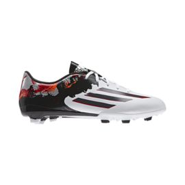 adidas Men's F10.3 Messi FG Outdoor Soccer Cleats - Black/White/Red