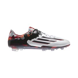 adidas Men's Messi 10.1 FG Outdoor Soccer Cleats - Black/White/Red