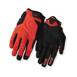 Giro Xen Glove - White/Glowing Red