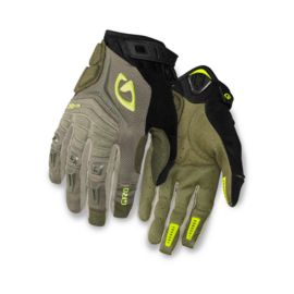 Giro Xen Mil Spec Glove - Olive/Highlight Yellow
