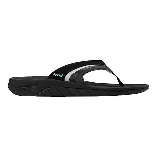 8ce7b38b95c3 Reef Women s Slap 3 Sandals - Black Aqua