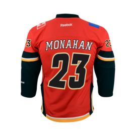 Calgary Flames Sean Monahan Kids' Premier Home Hockey Jersey