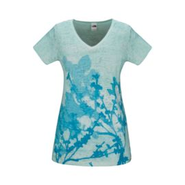 The North Face Bloom Burnout Women's V-Neck Top