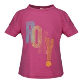 Roxy Exclamation Fashion Girls' Crew Tee