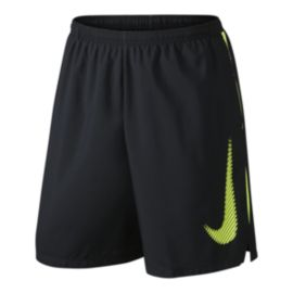 Nike Run Graphic 9 Inch Challenger Men's Shorts