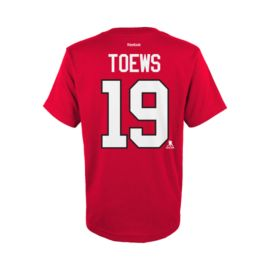Chicago Blackhawks Toews Youth Player Association Tee