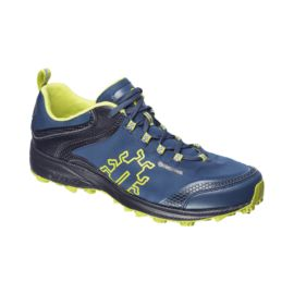 Icebug Men's Aurora BUGrip Trail Running Shoes - Blue/Yellow