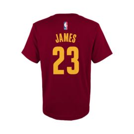 Cleveland Cavaliers Youth LeBron James Game Time  Tee
