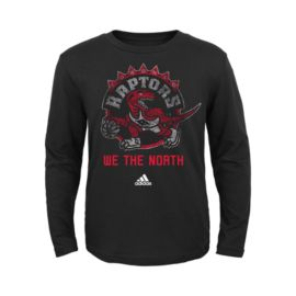 Toronto Raptors Youth We The North Retro Distressasaur Long Sleeve Tee