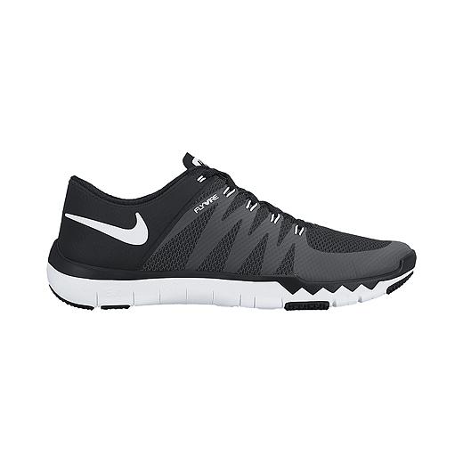 100% authentic bdf5a cecd1 Nike Men's Free Trainer 5.0 V6 Training Shoes - Black/White
