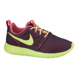 Nike Roshe One Women's Casual Shoes - Green/Maroon