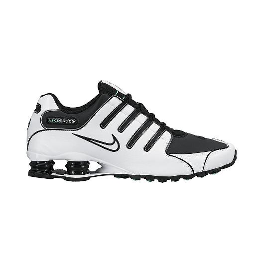 huge selection of 652eb 3b422 Nike Men's Shox NZ Shoes - White/Black | Sport Chek