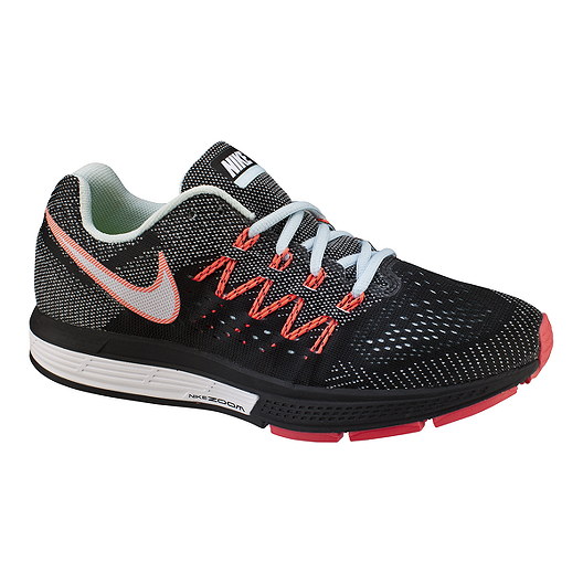 9a06816bbc29c Nike Women s Air Zoom Vomero 10 Running Shoes - Black Grey Orange ...