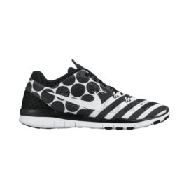Nike Women's Free 5.0 TR Fit 5 Breathe Training Shoes - Black/White Pattern