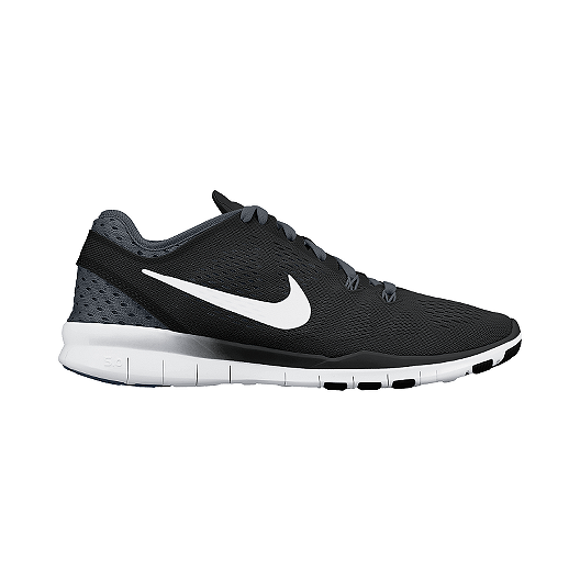 a4e61b4f36eb Nike Women s Free 5.0 TR Fit 5 Breathee Training Shoes - Black White ...