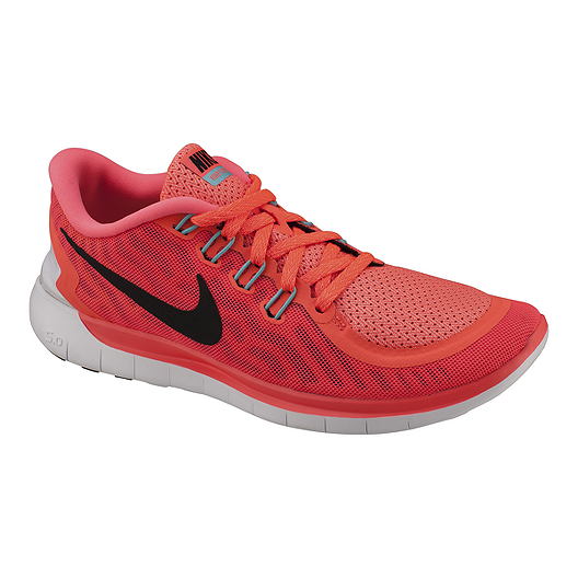 b9e6ca0a01a9 Nike Women s Free 5.0 2015 Running Shoes - Crimson Red Pink Black ...