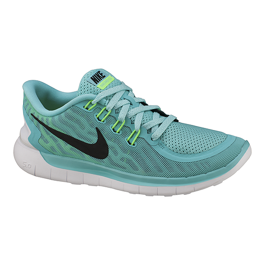 ea2411abe68a Nike Women s Free 5.0 2015 Running Shoes - Teal Black