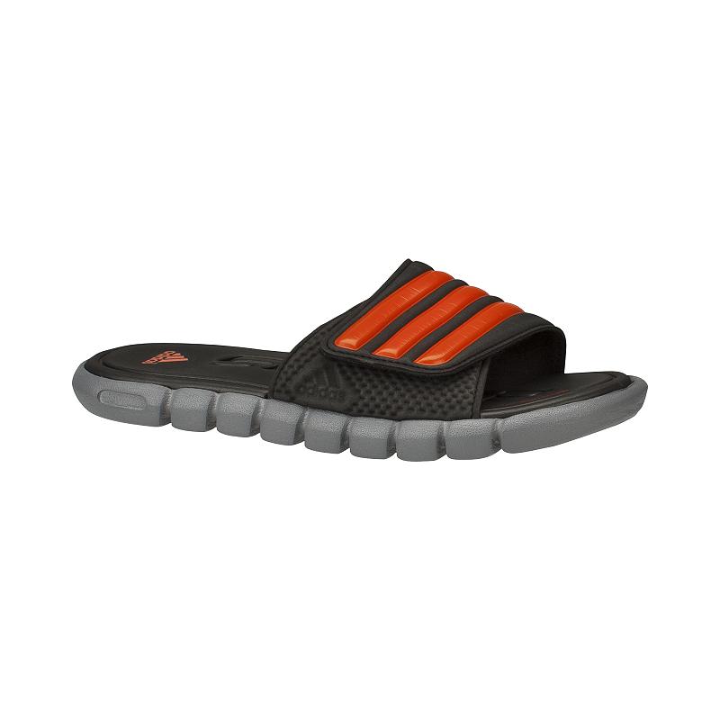 ebbf9581956f4e adidas Kids  Adilight Slide Supercloud Sandals - Black Orange Grey ...