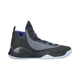 Nike Men's Jordan Super.Fly 3 PO Basketball Shoes - Black/Grey/Blue