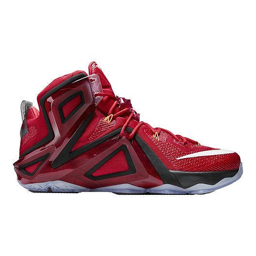 new arrival be8e0 eed4f Nike Men s LeBron 11 Elite Basketball Shoes - Red Black White   Sport Chek