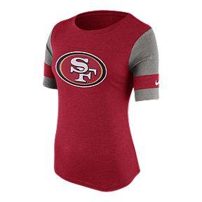 8b875fd47 San Francisco 49ers Women s Stadium Fan Top