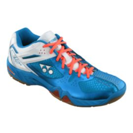 Yonex Men's SHB02M Indoor Racquet Sports Shoes - Blue/White/Orange