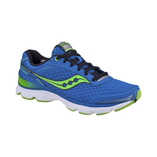 cheaper 702e9 f952d Saucony Men's Grid Shadow Genesis Running Shoes - Blue/Green ...