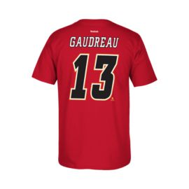 Calgary Flames Johnny Gaudreau Replica P.A. Tee