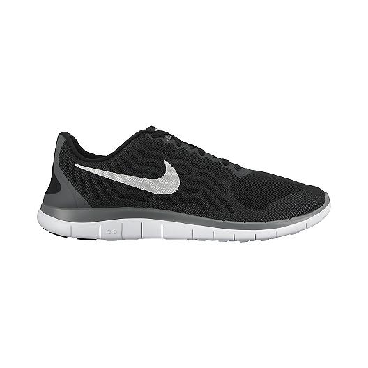 bb2c84bb84285 Nike Men s Free 4.0 V5 Running Shoes - Black Silver