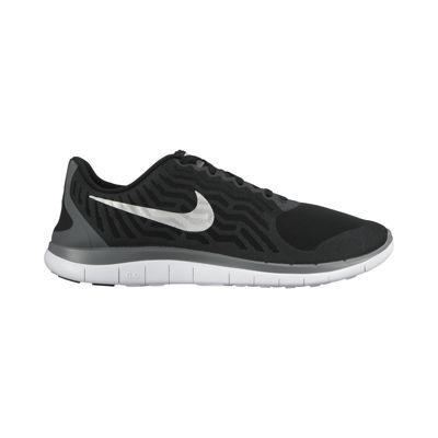 nike mens free 4.0 running shoes black