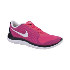 Nike Women's Free 4.0 V5 Running Shoes - Pink/White/Black