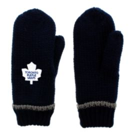 Toronto Maple Leafs Lined Women's Knit Mittens